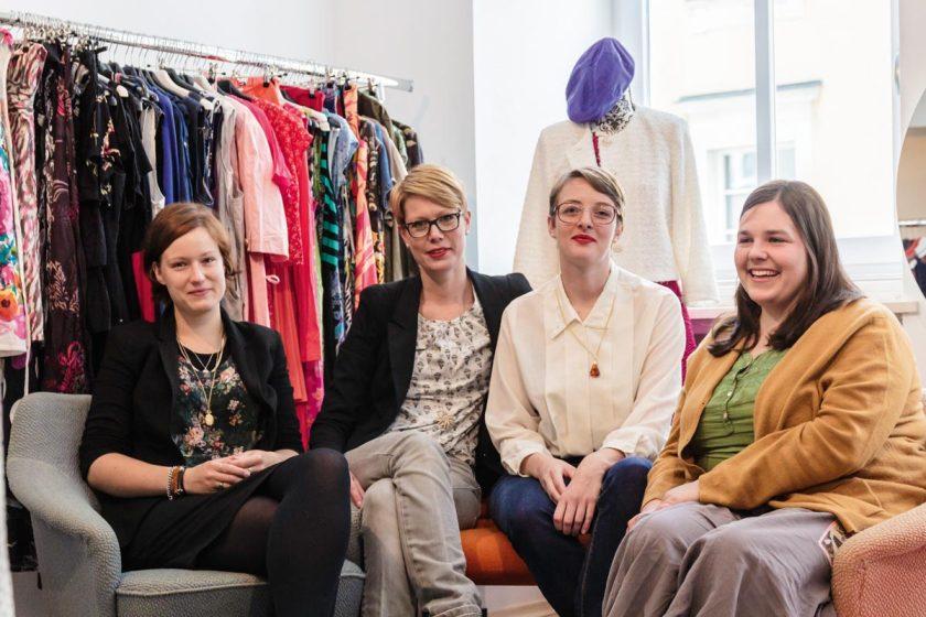 aktion hoffnung Secondhand-Shop, Eva Zaglauer und Mitarbeiterinnen, Passau